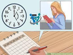 5 خطوات لتنظيم وقت المذاكرة