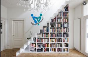 أجمل صور مكتبات منزلية